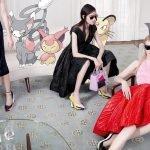 покемоны в рекламе Dior