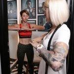 christina spivak bra fitting