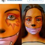 макияж покемон