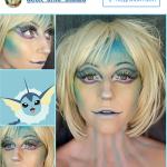 макияж с покемоном