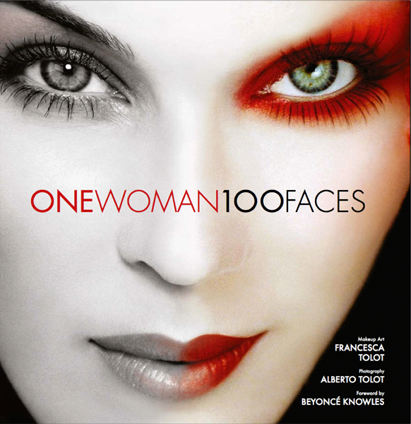 книга one Woman 100 Faces