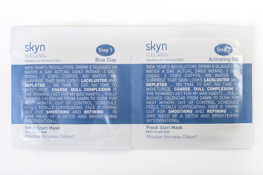 Fresh Start Mask Skyn Iceland