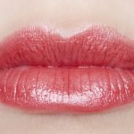 clarins joli rouge brillant 13 cherry swatch