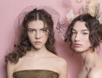 Макияж с показа Dior Haute Couture s/s 2017. Нимфа-стайл