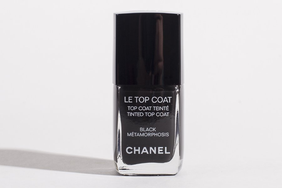 chanel le top coat black metamorphosis