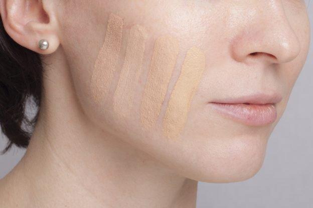 тональный крем для кожи с оливковым оттенком