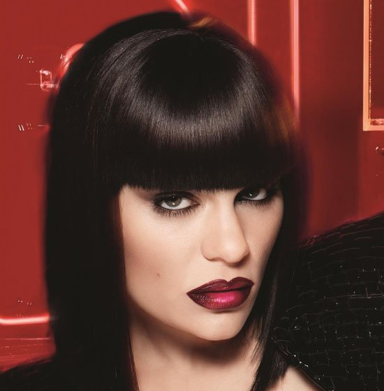 jessie j acrylip make up for ever