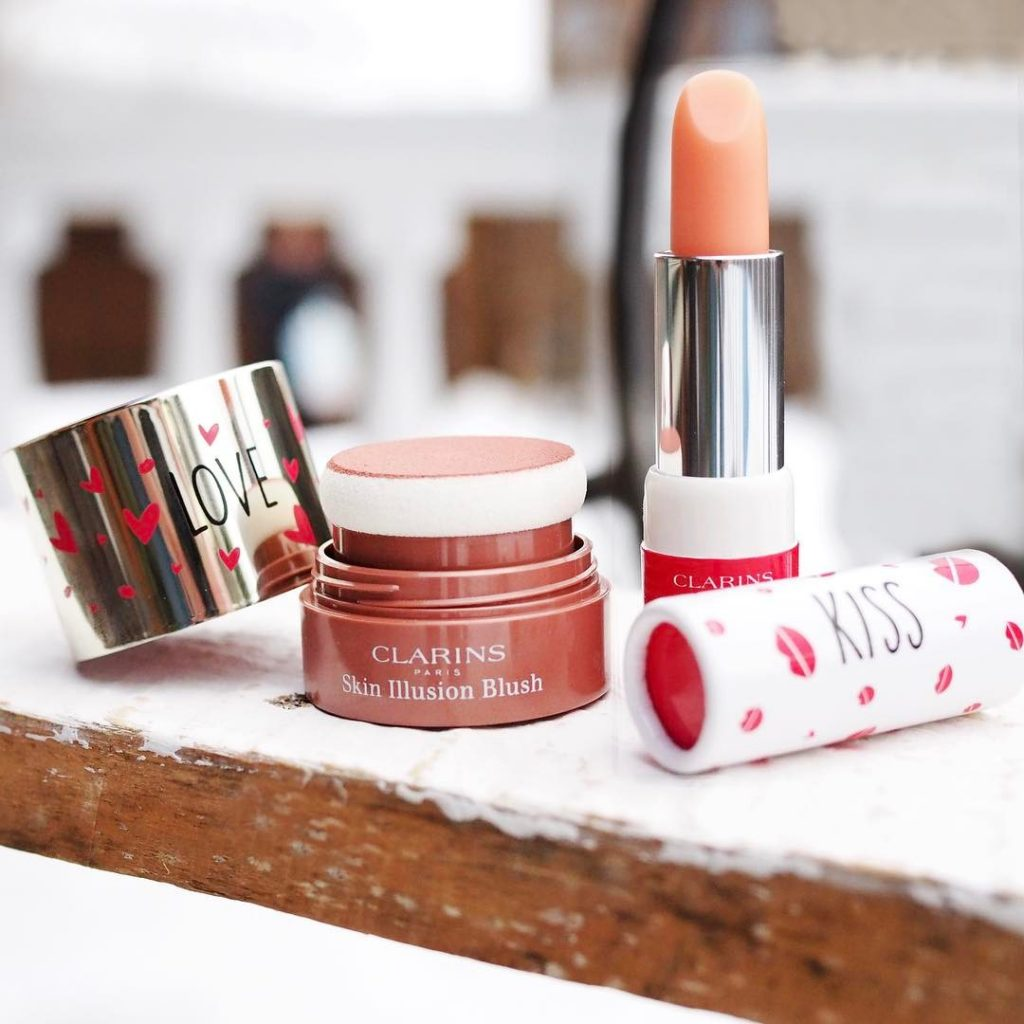 clarins sping balm and blush