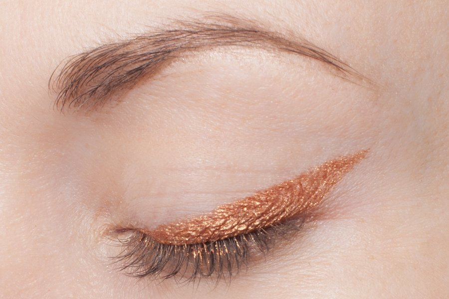 clarins waterproof eye pencil 07 copper swatch2