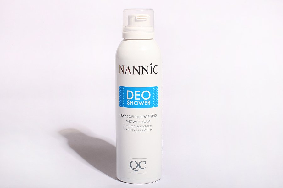 Nannic-deo-shower