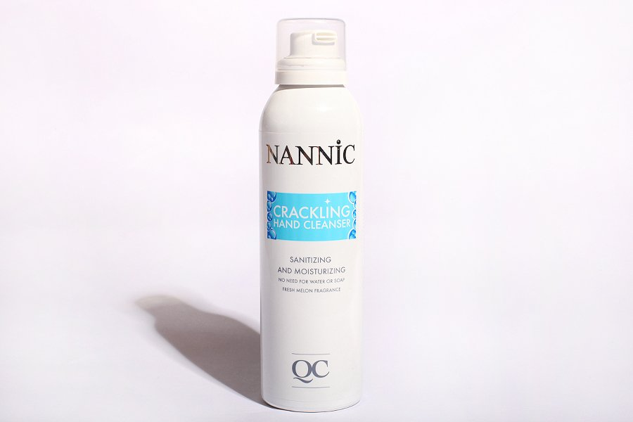 Nannic-hand-cleanser
