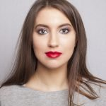estee lauder pure color love lipstick 310 swatch1