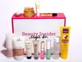 Beauty Insider Magic Box 14: обзор состава