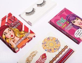 Розыгрыш Misslyn: 10 наборов косметики и билеты на фестиваль