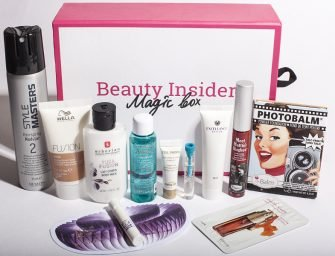 Beauty Insider Magic Box 17: обзор состава