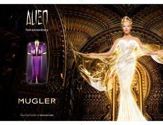 Доминик Ропьон и Alien Mugler: инопланетяне