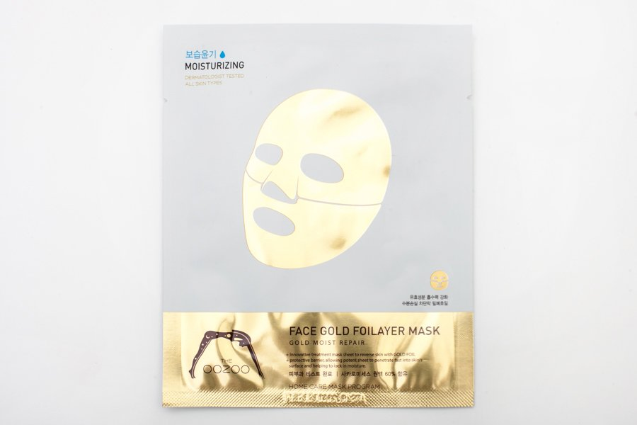 Oozoo-face-gold-foilayer-mask