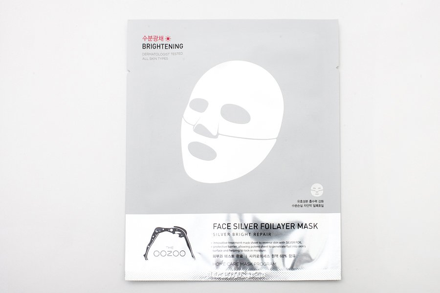 Oozoo-face-silver-foilayer-mask