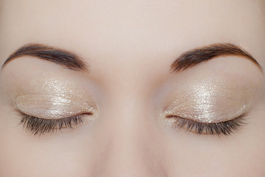 pupa - eyeshadow gold 1