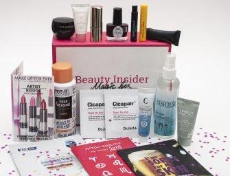 Праздничный выпуск Beauty Insider Magic Box №20: обзор состава