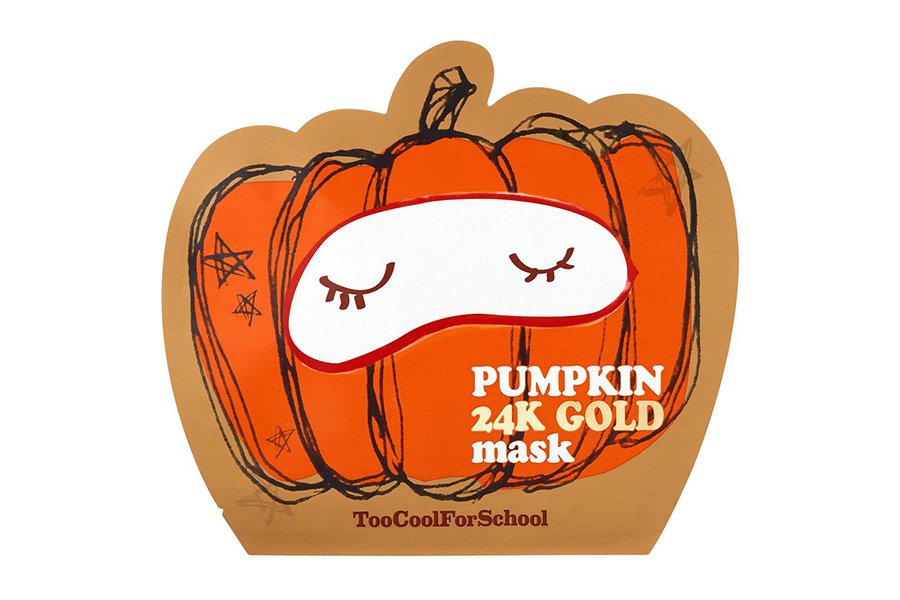 Too-Cool-School-Pumpkin-24K-Gold-Sheet-Mask