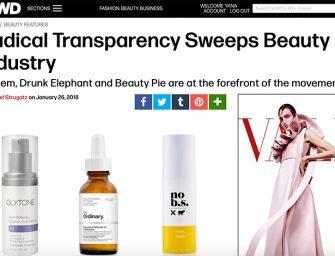The Ordinary и другие: прозрачность как тренд. Часть 2