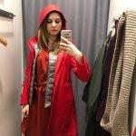 Маша - вылитая Красная шапочка