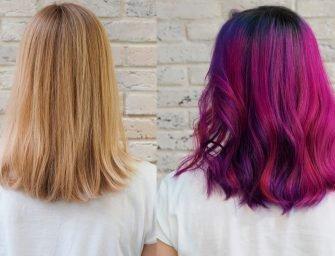 Цветные волосы: Ника и буйство мадженты