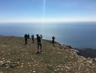 Крым, Храм солнца: движение вверх