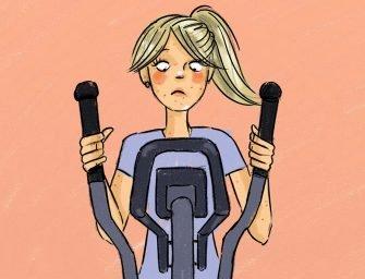 Как заниматься спортом и не испортить кожу, волосы и ногти?