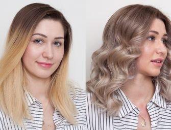 Модный блонд с Framesi: история Жени