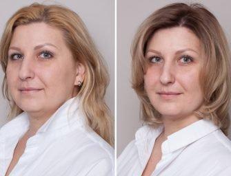 Скульптурирование лица с помощью стрижки и окрашивания: история Анастасии