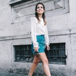 Mini_Suede_Skirt-Lace_Up_Skirt-Turquoise-Bow_Blouse-Mary_Jane_Shoes-Topshop-Outfit-Street_Style-7-790x1185