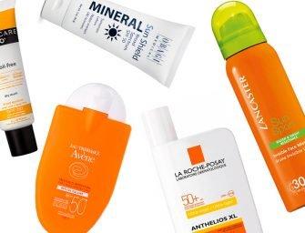 Лучшие солнцезащитные средства для лица на пляже: отзывы