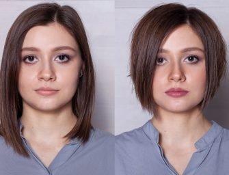 Стрижка боб с косой челкой: как отрезать волосы и не пожалеть