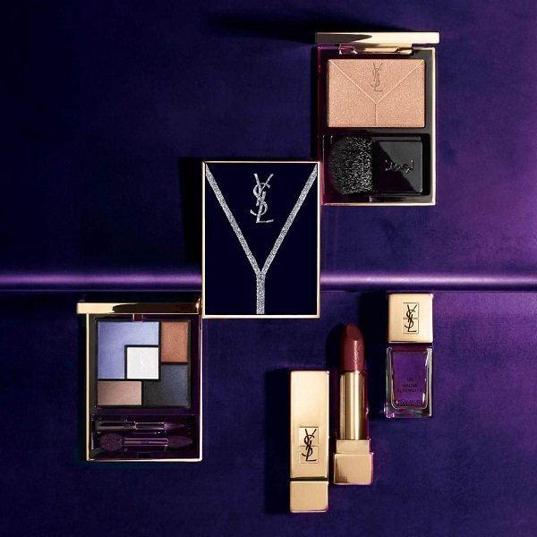 YSL Yconic Purple Collection for Fall 2018 visual 2