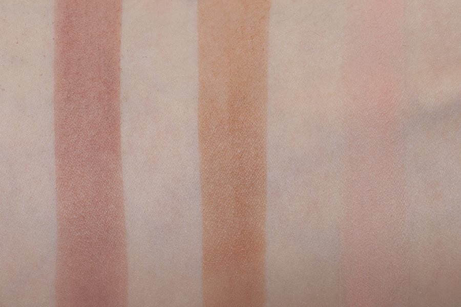 the balm meet ador swatch 1