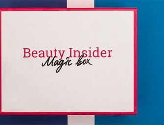 Welcome-бокс от Beauty Insider