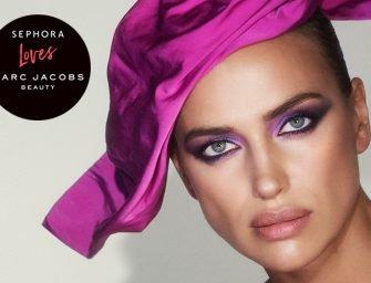 Выгода по расписанию: Ирина Шейк — новое лицо Marc Jacobs Beauty