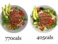 Тест: в каком блюде меньше калорий?