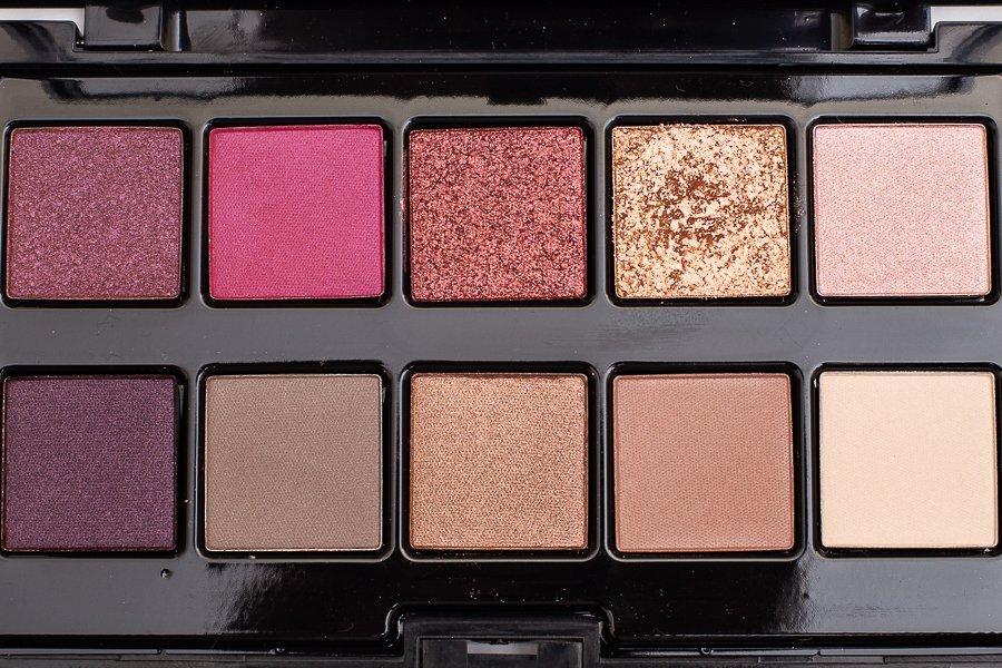 Pupa eyeshadow palette make up stories 003 Bright Violet 2