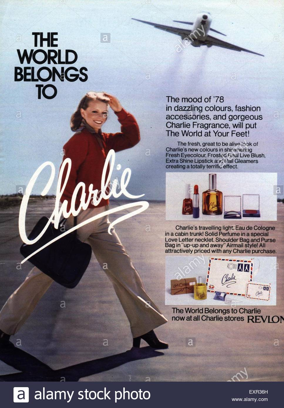 1970s-uk-charlie-revlon-magazine-advert-EXR36H
