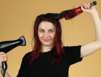 Типичные ошибки при сушке волос феном и как их избежать