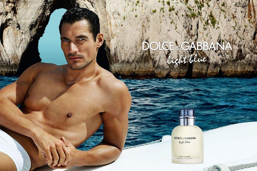Дэвид Ганди в рекламе Dolce & Gabbana