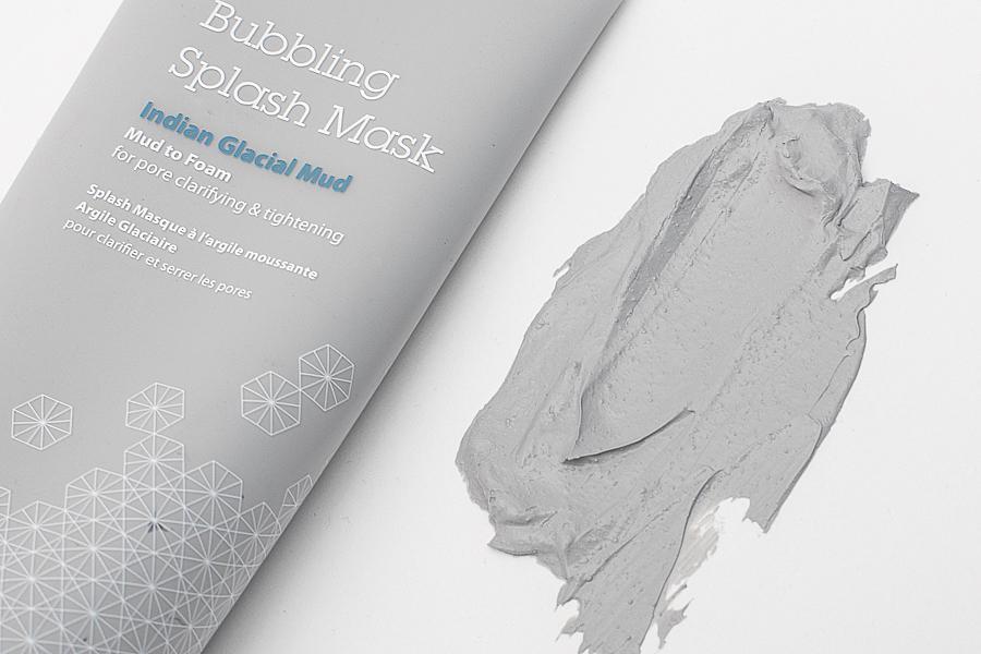 Очищающая пузырьковая глиняная сплеш-маска Bubbling Splash Mask Indian Glacial Mud, Blithe