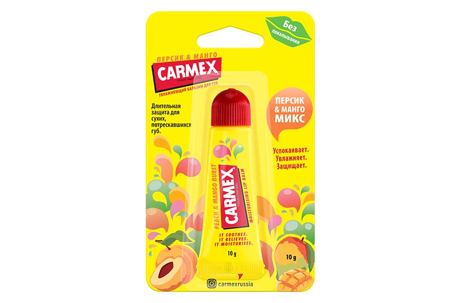 Бальзам для губ «Персик-Манго Микс», Carmex