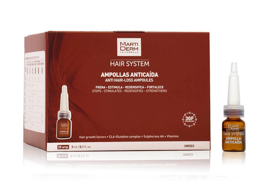Ампулы Hair System, Martiderm