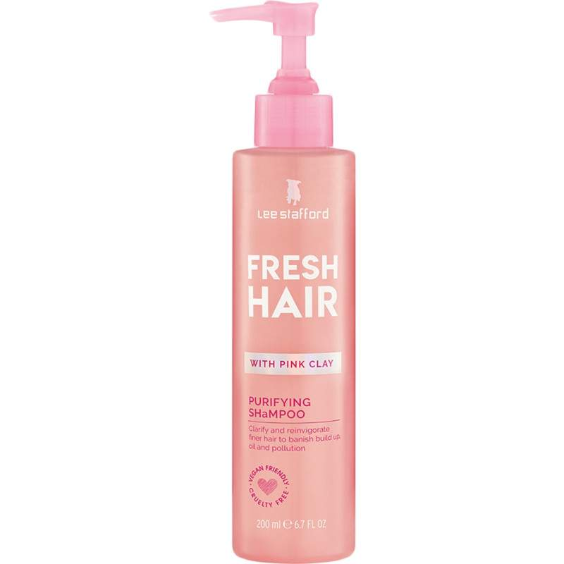 Шампунь с розовой глиной Fresh Hair, Lee Stafford