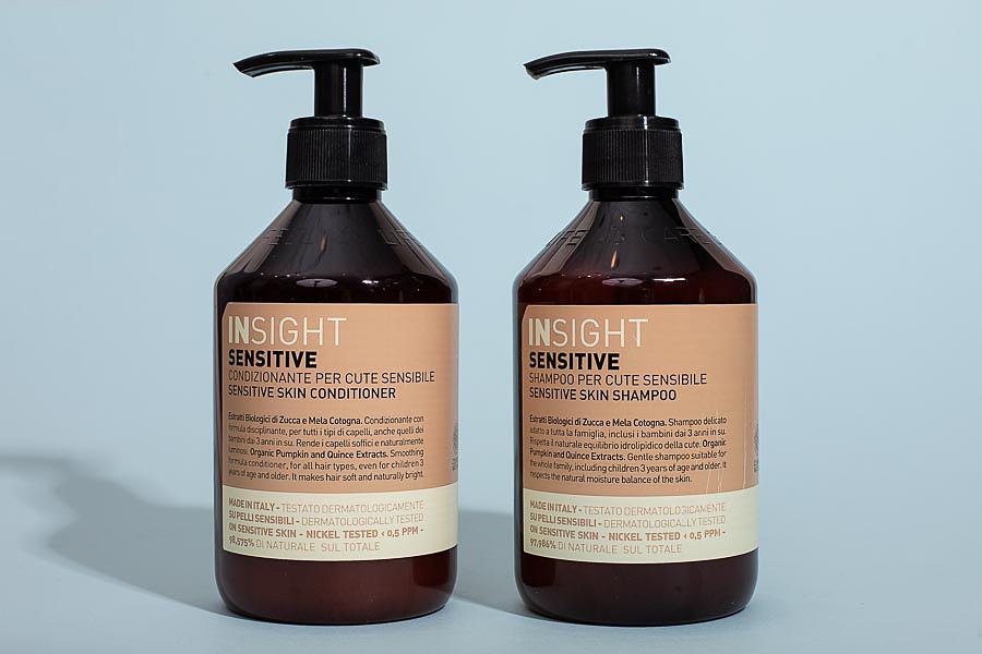 Шампунь и кондиционер для чувствительной кожи головы Sensitive, Insight Professional