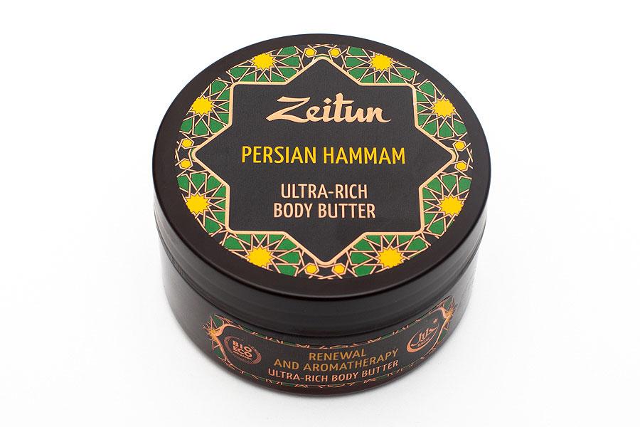 Баттер для тела Ultra-rich Body Butter Persian Hammam, Zeitun